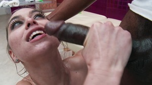 brandi love double blowjob