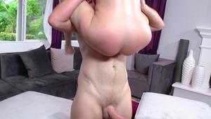 hot latina great tits blowjob