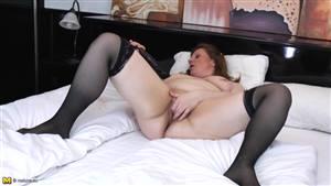 skinny british blonde milf