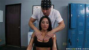 Teenager Melissa Benz Gets her Sweet Pussy by Two Lucky Guys