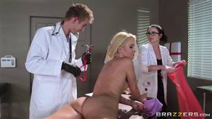 Doctor fucks the private patient