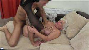 busty blonde solo masturbation