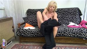 hot blonde rides black cock