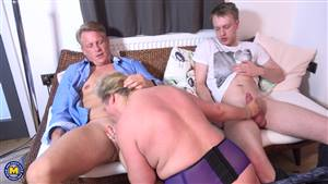 blonde college girl cheating