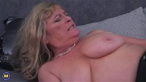 brunette milf rides cock