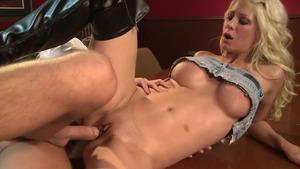 deep anal dildo bondage